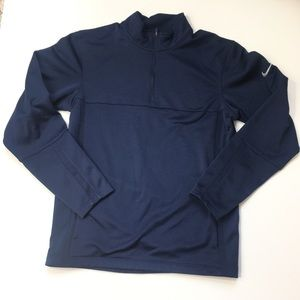 NIKE GOLF DRI-FIT 1/4 ZIP PERFORMANCE SHIRT